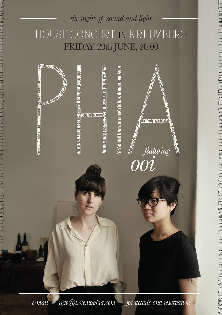 PHIA and Ooi live in Kreuzberg