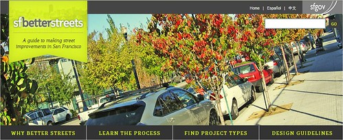 website banner (by: San Francisco Better Streets)
