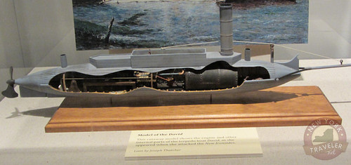 Model of Submarine David