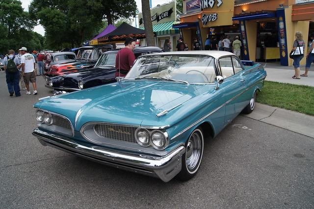 Old Bonneville Car