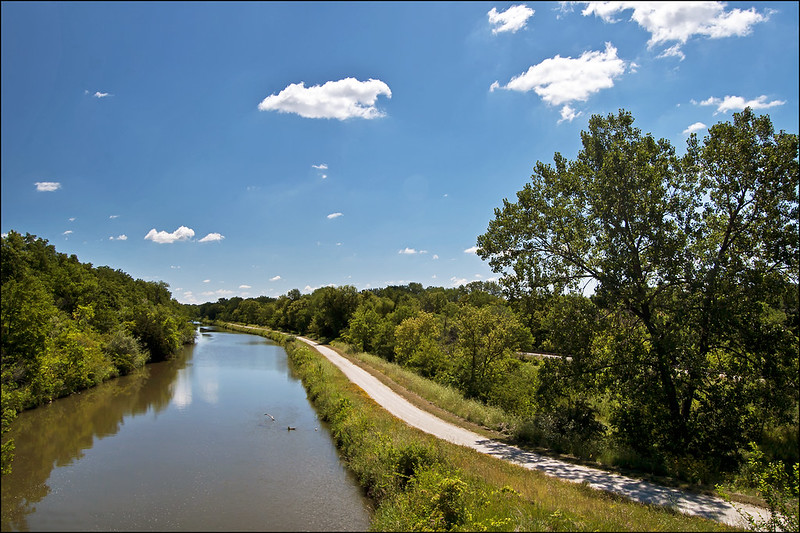 View from Lock 19 of the Hennepin Canal