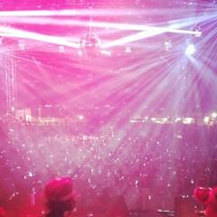 purple, rock concert, red, pink,