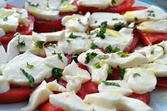salad, caprese salad, mozzarella, food, dish, dairy product, cuisine, feta, cheese,
