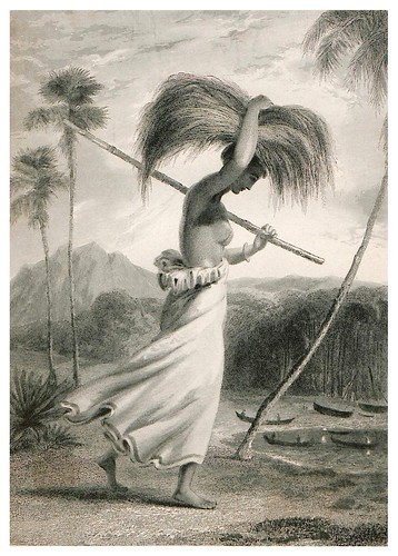007-Una campesina de Ceilan-The oriental annual, or scenes in India 1835-1840- William Daniell-© Universitätsbibliothek Heidelberg