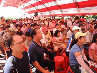 數百民眾到場參加說明會。