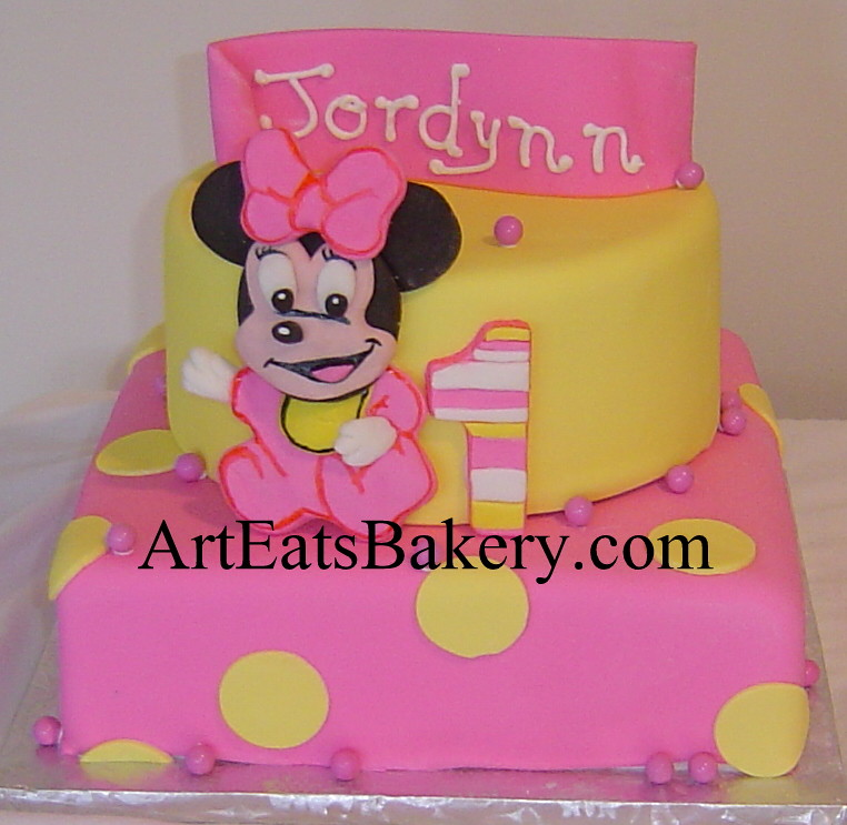 Minnie Mouse 1st Birthday Background Minnie Mouse Girl 39 s 1st