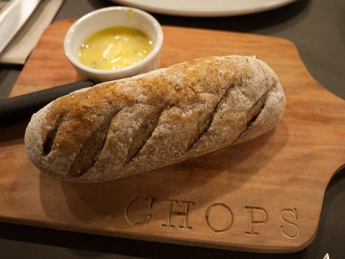 Bread at Chops Chicago Steakhouse