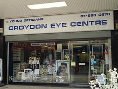 Picture of T Young Opticians/Croydon Eye Centre (CLOSED), 12 St George's Walk