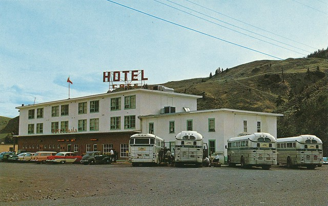 Cache Creek (BC) Canada  City pictures : Postcard: Oassis Hotel, Cache Creek, BC, 1962 | Flickr Photo Sharing ...