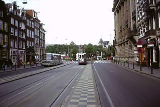 70s Amsterdam street - Martelaarsgracht