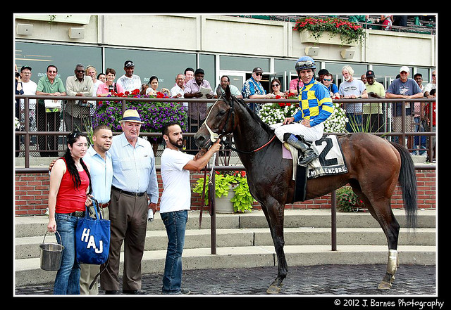 Emma's Encore after The 10th Running of The Victory Ride (Grade III)