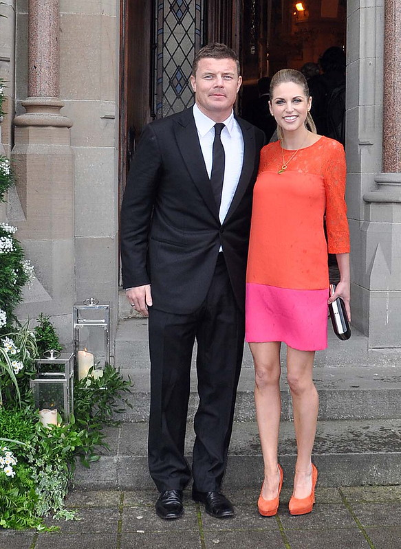 Brian ODriscoll And Amy Huberman The Wedding Of Model Aoife Cogan Rugby Star