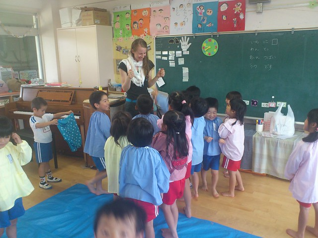 Art workshops with children