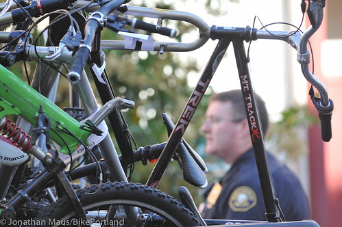 Stolen bikes at drug bust in Old Town-12