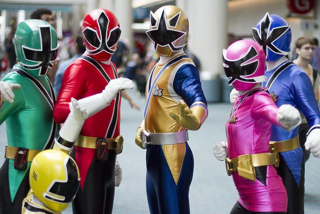 Samurai Power Rangers