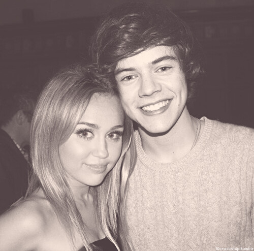 Harry Styles and Miley Cyrus