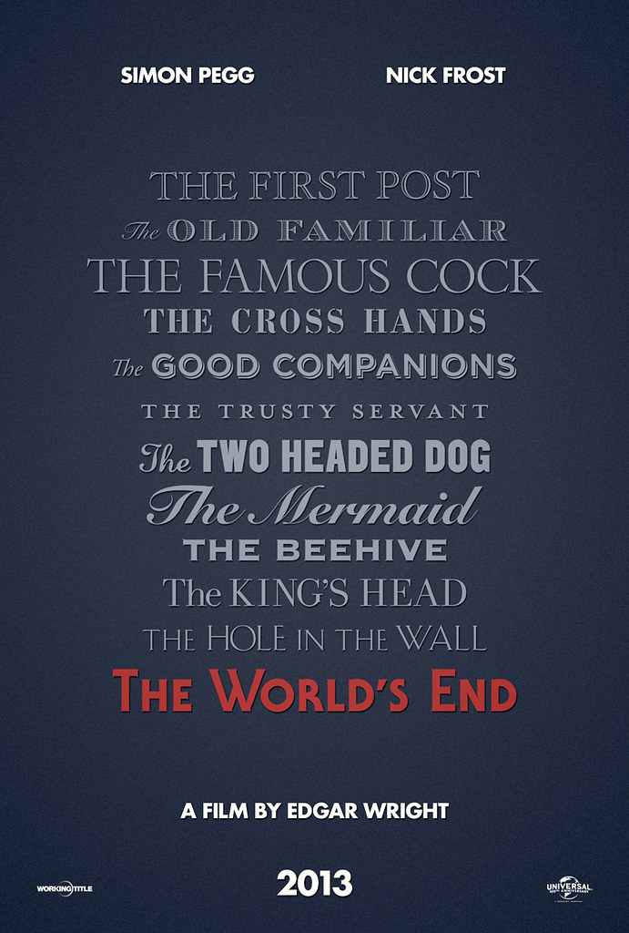 The World's End / Teaser Poster