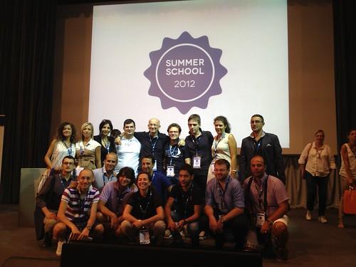 Gruppi di giovani da tutta Italia