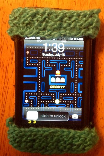 Pacman iPhone Sleeve - Front
