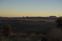 Davis Mountains Overlook at Sunset 2