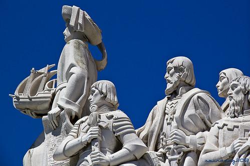 Monumento a los descubrimientos Belem by sairacaz