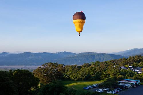 美國冰淇淋造型熱氣球自由飛行