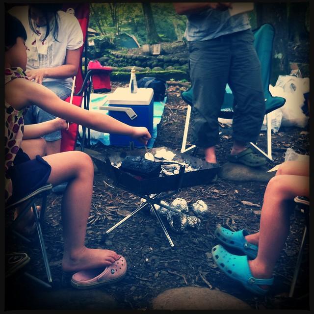 埼玉県青少年総合野外活動センターでキャンプ