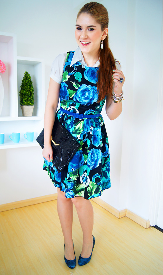 Floral dress by The Joy of Fashion (2)