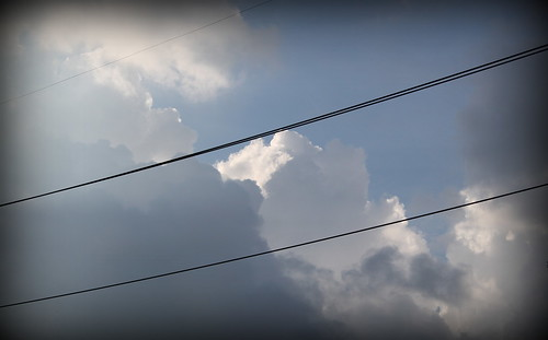 20120715. Studies in cloud formations...
