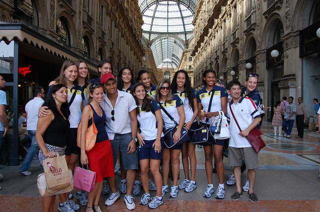 Milan Brazil Volleyball team