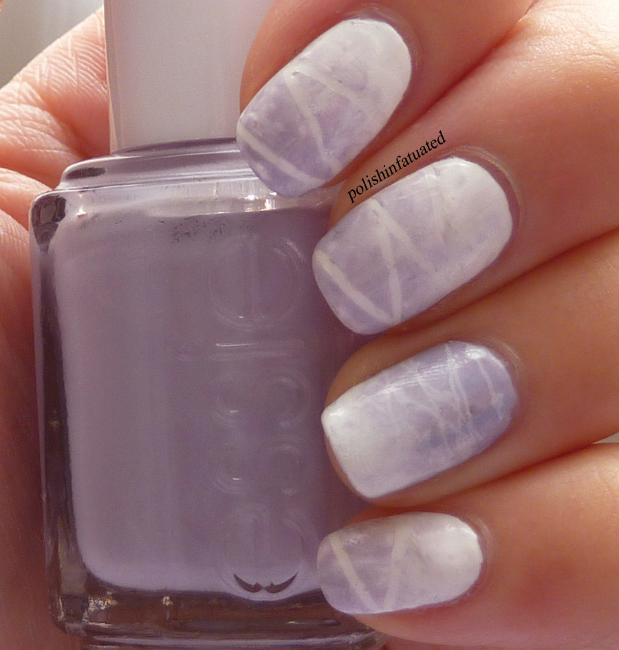 purple & white sponging1