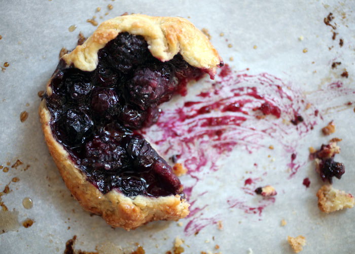 Black and Blueberry Tart