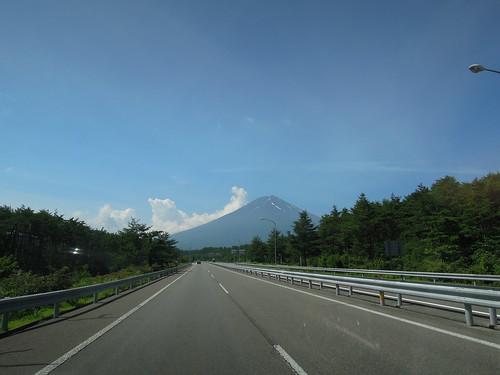 富士山 ほぼ雪無し