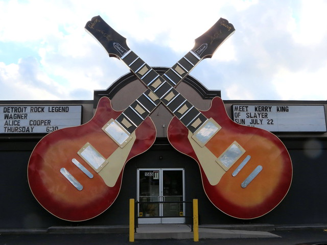 Motor city guitar store front flickr photo sharing for Motor city guitar waterford
