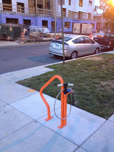 Bike Rack with Pump