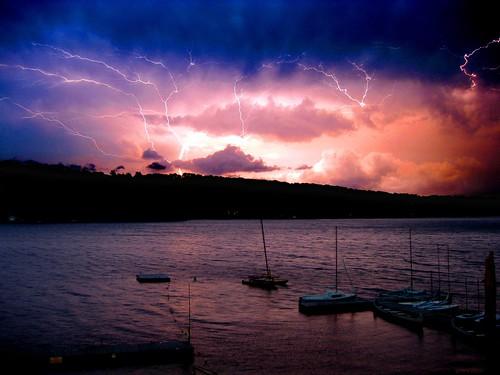 storm lightning westhillpond