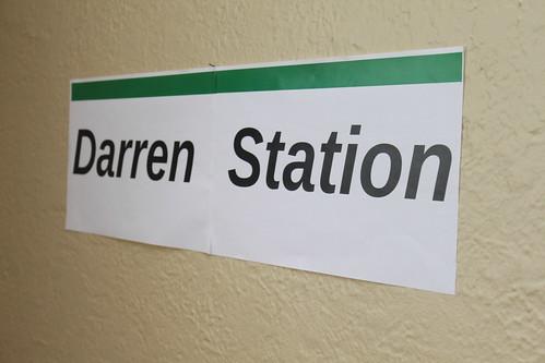 Darren Station, Hudson Line