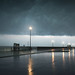 France, Pas-de-Calais, Stella-Plage. l'orage ©(vincent desjardins)