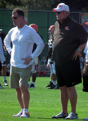 ead Coach Pat Shurmur and Mike Holmgren by Erik Daniel Drost, on Flickr