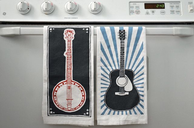 tea towels by Tiny Peepers