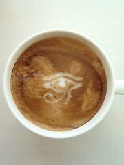 Today's latte, Sphinx.