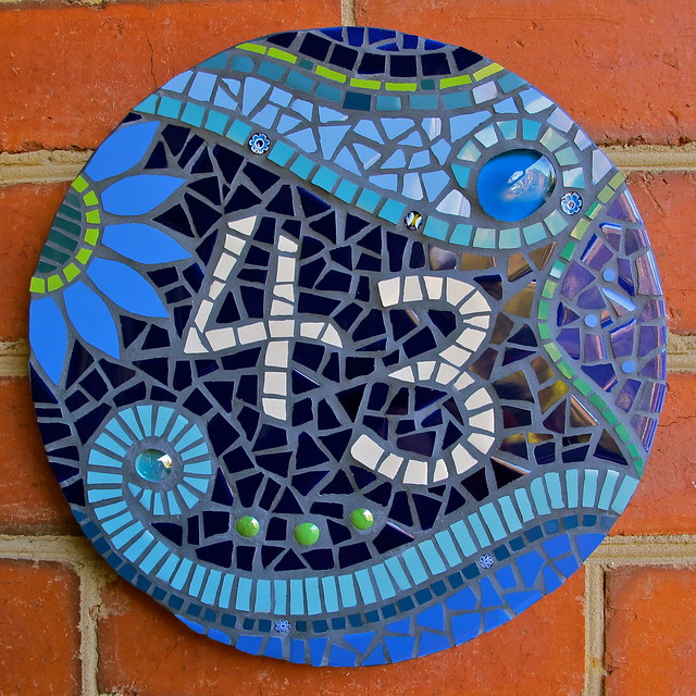 DavRah Mosaics - House Number | Flickr - Photo Sharing!