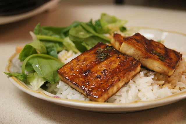 Grilled Tofu | Flickr - Photo Sharing!