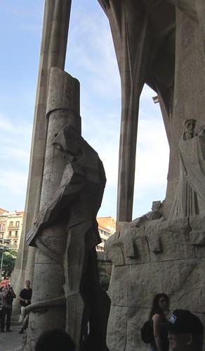 サグラダ・ファミリア 「キリストの受難」ファサードのキリスト by Poran111
