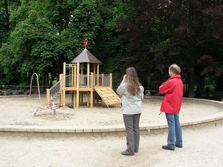 Speeltuintje in het park