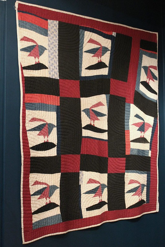 quilts at the DAR museum