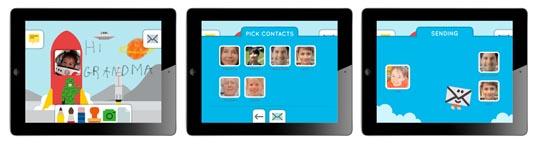 Maily, application iPad pour envoyer des mails