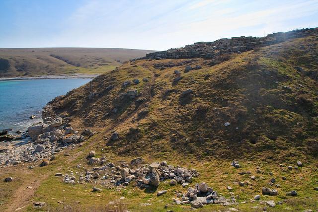 Hill near the bay