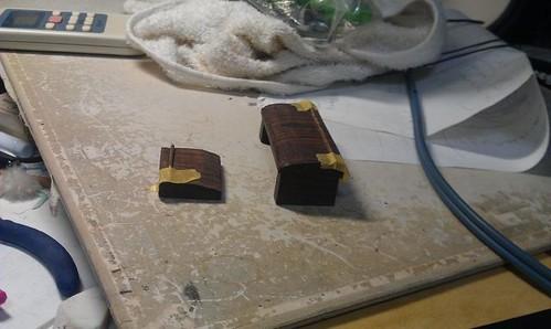 I made sitar bridge.004 by Kanda Mori