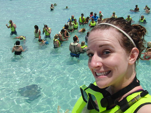 swimming with stingrays WHAT?